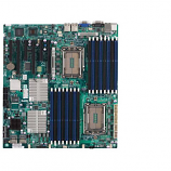 Supermicro H8DG6-F-O Dual Socket G34/ AMD SR5690/ V&2GbE/ Extended ATX Server Motherboard, Retail