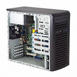 Supermicro SuperChassis CSE-731I-300B 300W Mini-Tower Workstation Chassis (Black)