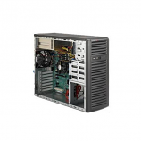Supermicro SuperChassis CSE-732I-R500B 500W Mid-Tower Workstation Chassis (Black)