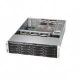 Supermicro SuperChassis CSE-836BE16-R920B 920W 3U Rackmount Server Chassis (Black)